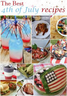 The best 4th of July Recipes to complete your Independence Day celebration!