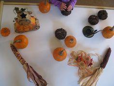 sensory table, fall sensori, craft, halloween sensori, sugar aunt