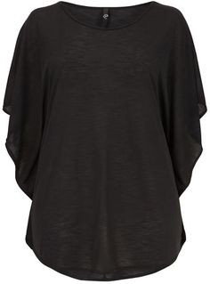 Evans Dark Gray Cape Top - New In - Clothing  - New In