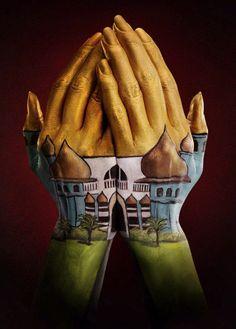Ray Massey, hands