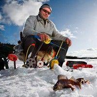 Icefishing in Kemijärvi