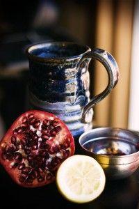 Pomegranate and Green Tea Facial Peel