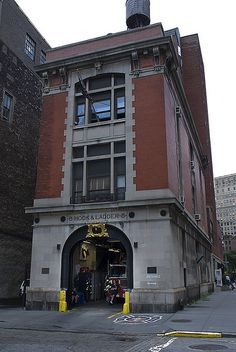 NY Ghostbusters Fire Station