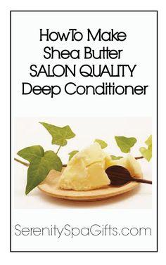 Shea Butter Hiar Conditioner Recipe
