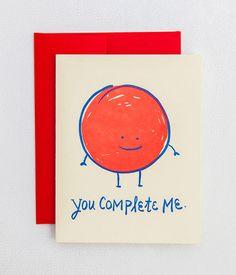 Valentine's Day letterpress cards