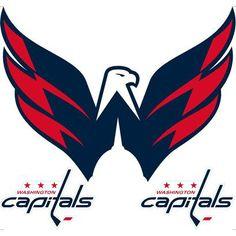 "Washington Capitals Removable Logo - 24x24"""