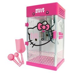 Pop, pop, pop it up with a Hello Kitty popcorn maker!