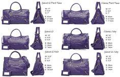 Comparison Balenciaga Bags