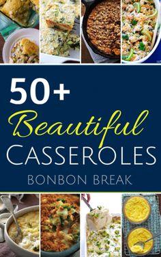 50+ Beautiful Casserole Recipes