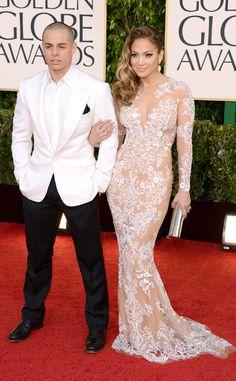Jennifer Lopez, Casper Smart, Golden Globes 2013. Breathtaking!!