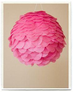 Cute Paper Lamp alternative.