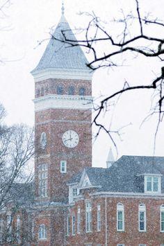 Winter at Clemson - Clemson World - Clemson University
