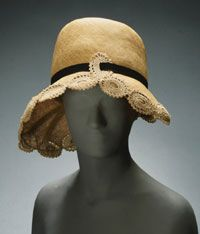 Woman's Hat    Made in New York City, New York, United States, North and Central America  c. 1925    By Tappe Inc., New York