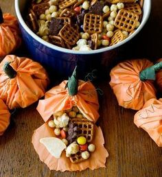Pumpkin Party Mix- This is always a hit with the children!