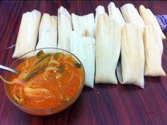 Ricos tamales de rajas - 2 recetas Comida mexicana