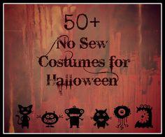 huge list of easy DIY costumes for kids!