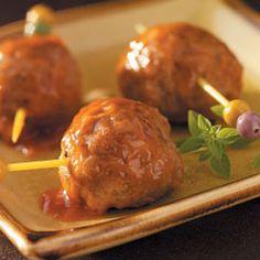 Pineapple Appetizer Meatballs