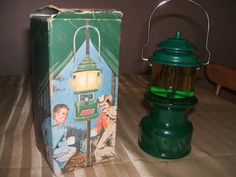 vintage avon coleman lantern aftershave