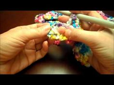 Make a DIY Easy Crocheted Baby Blanket with this quick tutorial. Single crochet is all that's needed.