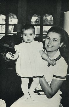Grace and Stéphanie. 1966