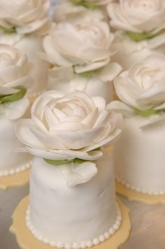 Sylvia Weinstock Mini Cakes....wow!!!!