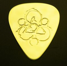 Coheed and Cambria  Brass Guitar Pick by ColemanCustomPicks, $15.00