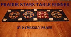 Prairie Stars Table Runner - Moda Bake Shop