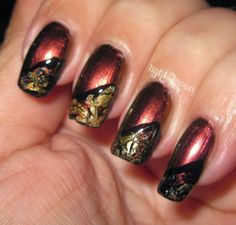 Light of the Moon Nails: Falling Behind with Fall Nail Art