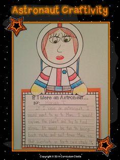 Space Unit: Astronaut Craftivity!