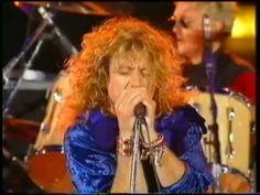ROBERT PLANT + QUEEN - Innuendo / Kashmir / Thank You - Freddie Mercury Tribute Concert 1992