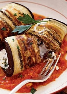 Eggplant Cannelloni ! OHHh yes!