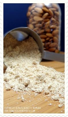 unblanch almond, almond flour recipes, how to make almond flour