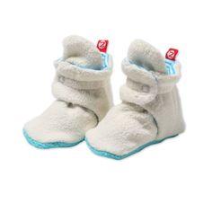 Fleece booties -- th
