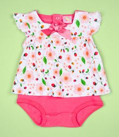 a baby twofer. A onesie but its also a cute top. Perfect for the fashionista baby that doesn't have hours to get ready;)