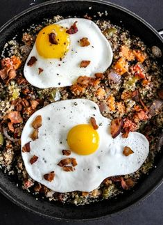 Quinoa Breakfast Skillet I via @Jan Howard sweet eats #brunch #healthy #recipe #protein