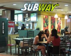 Lich King spotted at Subway