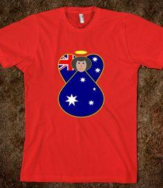 Australian Flag Ange