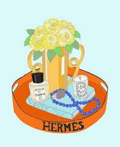 Hermès tray