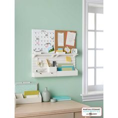 Martha Stewart Home Office™ with Avery® Wall Manager Cork Board | Staples®