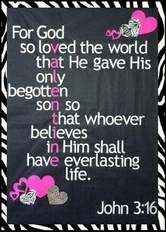 John 3:16 ♥