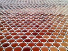 Respect!! Concept : 66 000 verres pour une mosaïque d'eau #Art #Beautiful