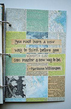 <3 Art journal inspiration. Collage-2 | Flickr - Photo Sharing!