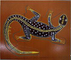 Aboriginal Tattoo Inspiration Goanna