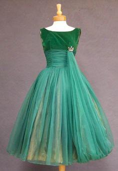 Prom Dress 1950s -Vintageous