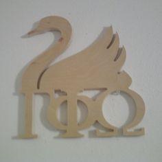 Gamma Phi Omega Swan $19.99
