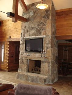 Best Plan Over 2,500 Square Feet:  The Trailside Log Home Plan
