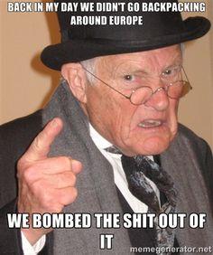 something my grandpa would say...