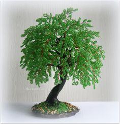 Деревья из бисера on Pinterest | Wire Trees, Bonsai ...