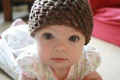 Free Crochet Baby Hat Pattern..