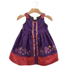 Corduroy Button Down Dress - Silly Sissy Dresses >> Adorable!